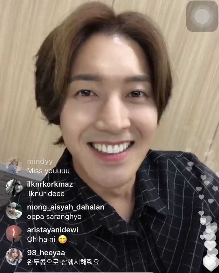 [Video+Screen Caps] Kim Hyun Joong Instagram LIVE [2018.06.08]